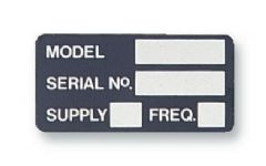 PRO POWER 7827275  Label Model/Serial No Card Of 10